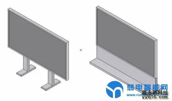 LED站立式安装方式